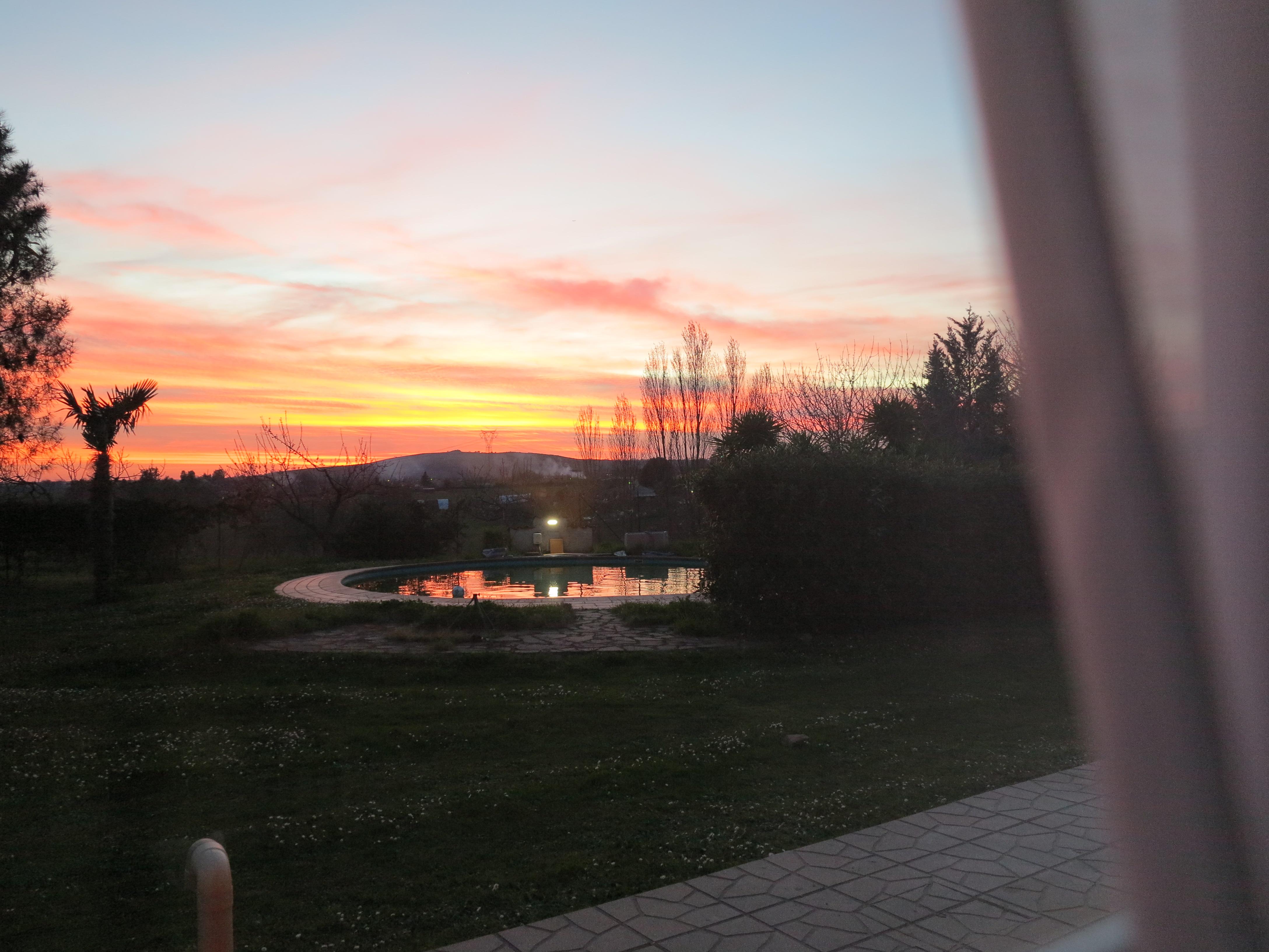 tramonto piscina vista  stanza Maria biancocancello camera singola doppia bagno ingresso indipendente